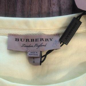 Burberry Sweaters - Burberry Sauer Doodle Neon Yellow Sweatshirt